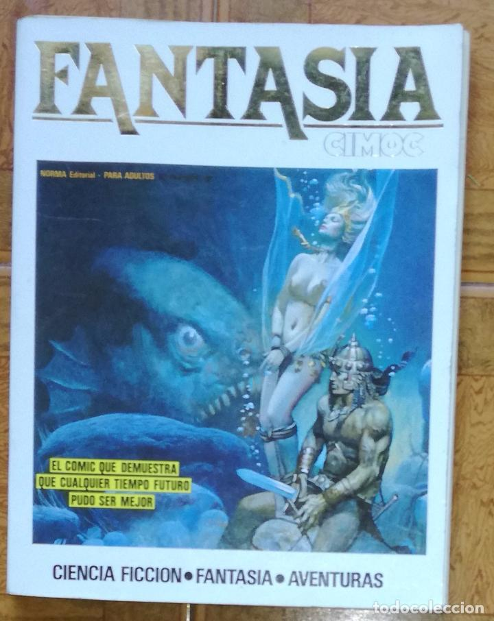 CIMOC FANTASIA, TOMO Nº 4: RETAPADO CON LOS NUMEROS 15, 16 Y 17 (Tebeos y Comics - Norma - Cimoc)