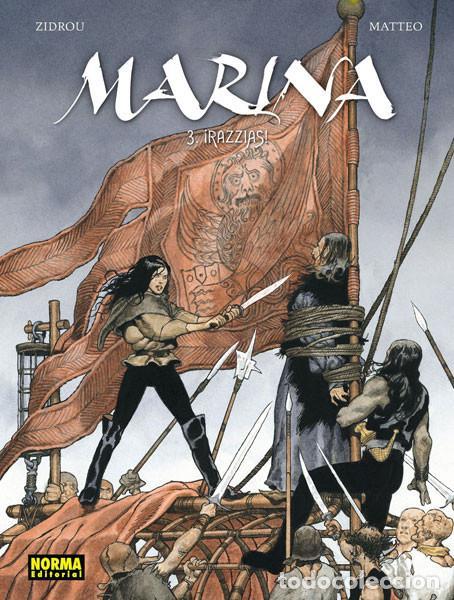 CÓMICS. MARINA 3. ¡RAZZIAS! - ZIDROU/MATTEO (CARTONÉ) (Tebeos y Comics - Norma - Comic Europeo)