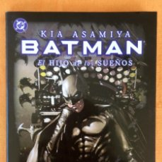 Cómics: BATMAN EL HIJO DE LOS SUEÑOS KIA ASAIYA 350 PAG SOBRECUBIERTA DC COMICS NORMA EDITORIAL 26,5X17,5X1. Lote 108418746