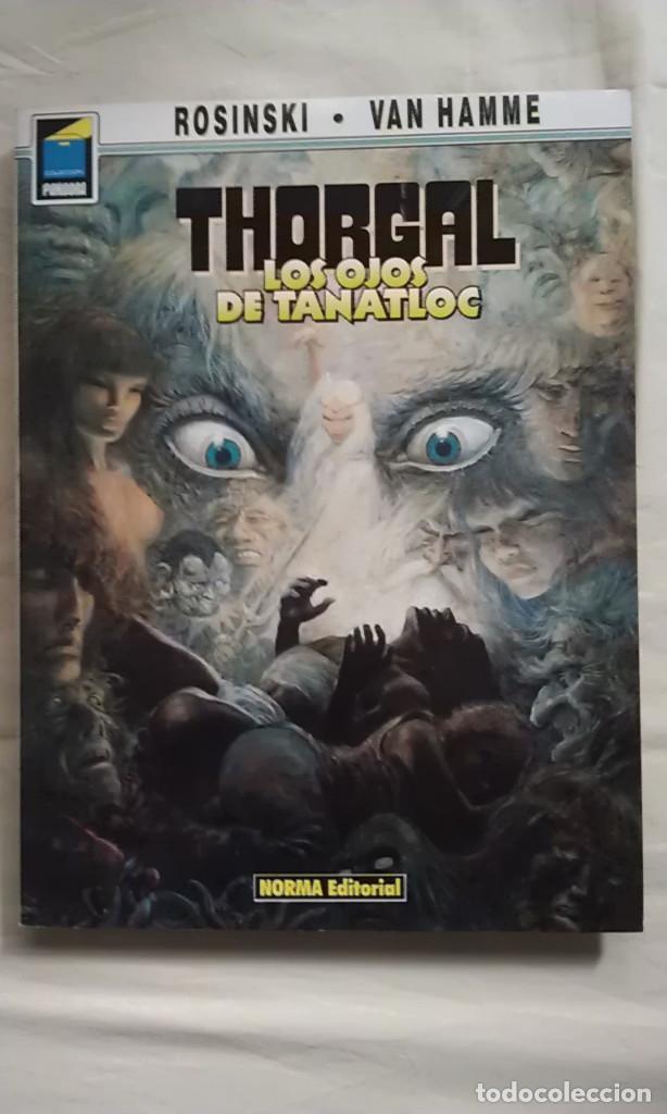 LOS OJOS DE TANATLOC - ROSINSKI - VAN HAMME - THORGAL (Tebeos y Comics - Norma - Comic Europeo)