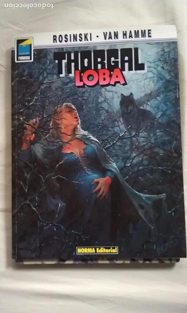 LOBA - ROSINSKI - VAN HAMME - THORGAL (Tebeos y Comics - Norma - Comic Europeo)