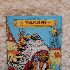 Cómics: YAKARI - YAKARI Y GRAN AGUILA - YAKARI I EL BISONTE BLANCO N. 1. Lote 95047787