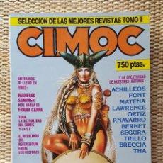 Cómics: CIMOC SELECCIÓN MEJORES REVISTAS TOMO II NºS 18-21-22-23-48 - NORMA EDITORIAL . Lote 95338083