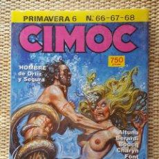 Cómics: CIMOC PRIMAVERA 6 - NºS 66 - 67 - 68 - NORMA EDITORIAL. Lote 95338883