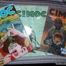 Cómics: CÓMIC 3 NÚMEROS EXTRA CIMOC: 3º GUERRA MUNDIAL, JUEGOS PELIGROSOS Y EXTRA 2000.. Lote 95384607