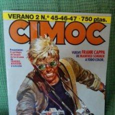 Cómics: CIMOC VERANO 2. RETAPADO CONTIENE 45,46,47. NORMA EDITORIAL.. Lote 95389243