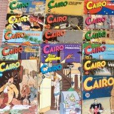 Cómics: LOTE 19 COMICS CAIRO NORMA EDITORIAL NOS 33 34 35 36 37 38 39 41 42 43 45 46 47 50 51 52 53 55 57. Lote 95607571
