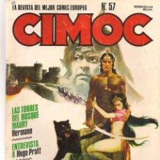 Cómics: CIMOC. Nº 57. NORMA (B/A49). Lote 95692199
