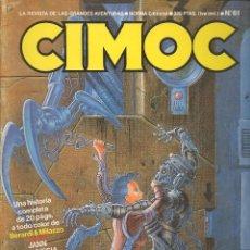Cómics: CIMOC. Nº 61. NORMA (B/A49). Lote 95692359