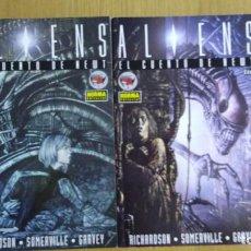 Cómics: ALIENS: EL CUENTO DE NEWT -2 NUM, MINISERIE COMPLETA - NORMA EDITORIAL 1995. Lote 95735463