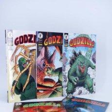 Cómics: GODZILLA 1 A 5 COMPLETA (VVAA) NORMA, 1998. OFRT ANTES 19,5E. Lote 95752592