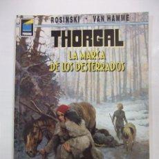 Cómics: THORGAL. LA MARCA DE LOS DESTERRADOS. COLECCION PANDORA Nº 55 - ROSINSKI - VAN HAMME. TDKC27. Lote 95758283