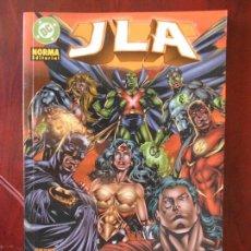Cómics: JLA - NUEVO ORDEN MUNDIAL - NORMA EDITORIAL - GRANT MORRISON - DC (A1). Lote 95758671