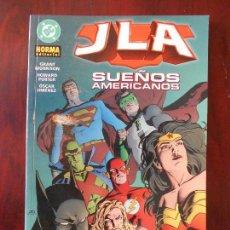 Cómics: JLA - SUEÑOS AMERICANOS - NORMA EDITORIAL - GRANT MORRISON - DC (A1). Lote 95758895