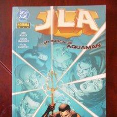 Cómics: JLA - EN BUSCA DE AQUAMAN - NORMA EDITORIAL - JOE KELLY - DC (A1). Lote 95759707