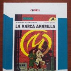 Cómics: BLAKE Y MORTIMER LA MARCA AMARILLA EL PAIS TAPA DURA. Lote 95762227