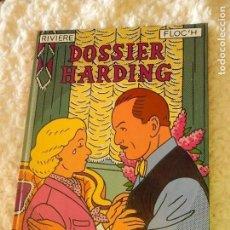 Cómics: DOSSIER HARDING - RIVIERE FLOC´H. Lote 95807627