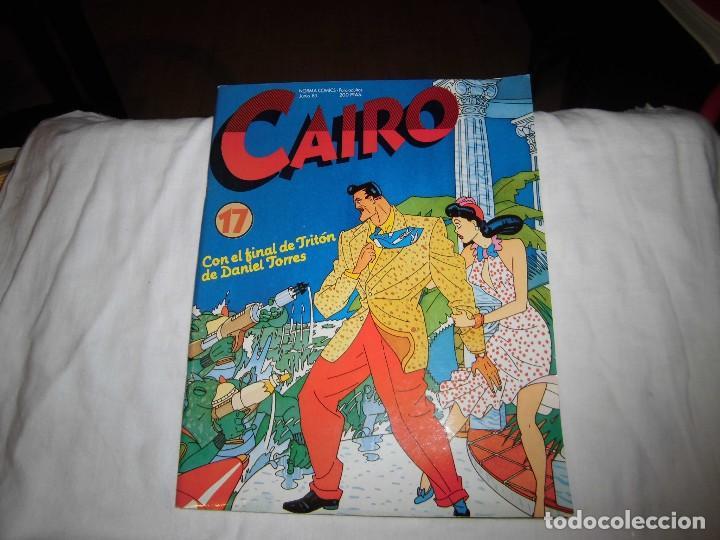 CAIRO Nº 17 CON EL FINAL DE TRITON DE DANIEL TORRES (Tebeos y Comics - Norma - Cairo)