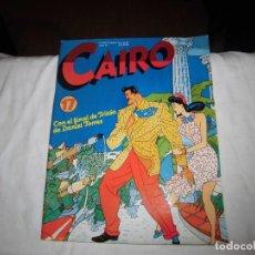 Cómics: CAIRO Nº 17 CON EL FINAL DE TRITON DE DANIEL TORRES. Lote 95886707