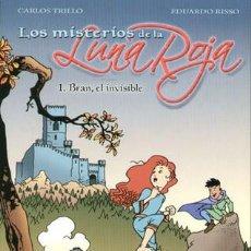 Cómics: LOS MISTERIOS DE LA LUNA ROJA (1-4). Lote 95887059
