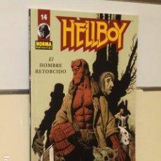 Cómics: HELLBOY Nº 14 - EL HOMBRE RETORCIDO - NORMA OFERTA. Lote 95887483
