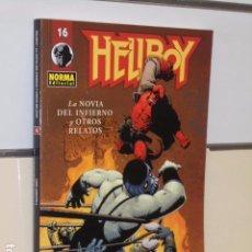 Cómics: HELLBOY Nº 16 - LA NOVIA DEL INFIERNO Y OTROS RELATOS - NORMA OFERTA. Lote 95887595