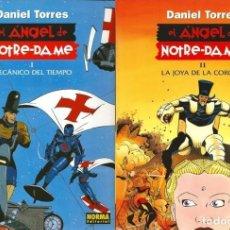Cómics: EL ÁNGEL DE NOTRE-DAME (PACK). Lote 95891651