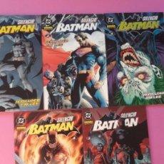 Cómics: BATMAN SILENCIO COMPLETA. Lote 95909883
