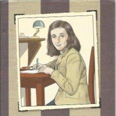 Cómics: ANA FRANK - SID JACOBSON / ERNIE COLÓN - TAPA DURA Y SOBRECUBIERTA, 158 PÁGINAS, COLOR - COMO NUEVO. Lote 95929391