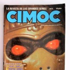 Cómics: CIMOC NÚMERO 25. LA REVISTA DE LAS GRANDES SERIES. EDITORIAL NORMA. AÑO 83.. Lote 95964247