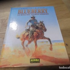 Cómics: LA MINA DEL ALEMÁN PERDIDO. BLUEBERRY. NORMA EDITORIAL. Nº 1. BUEN ESTADO. 2002. Lote 96027151