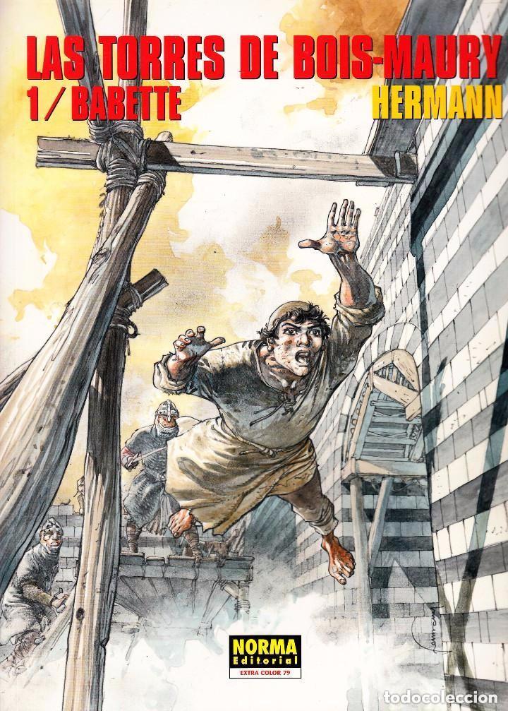 CIMOC EXTRA COLOR: LAS TORRES DE BOIS-MAURY Nº 1 A 13 - HERMAN (NORMA 1984) (Tebeos y Comics - Norma - Comic Europeo)