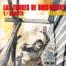 Cómics: CIMOC EXTRA COLOR: LAS TORRES DE BOIS-MAURI Nº 1 A 13 - HERMAN (NORMA 1984). Lote 96029371