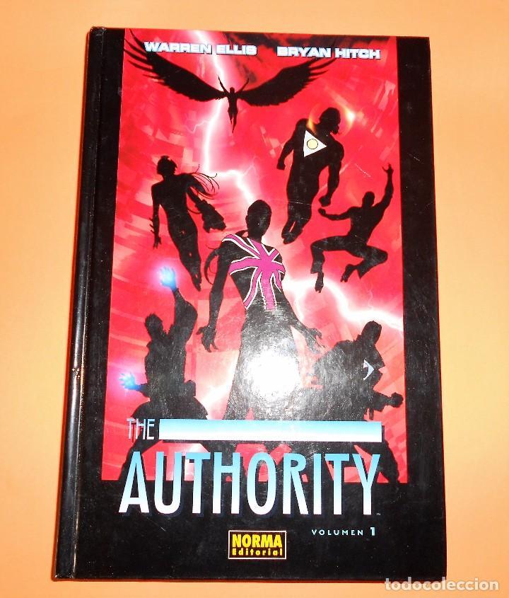 THE AUTHORITY. VOLUMEN 1. WARREN ELLIS. IMPECABLE. (Tebeos y Comics - Norma - Comic USA)