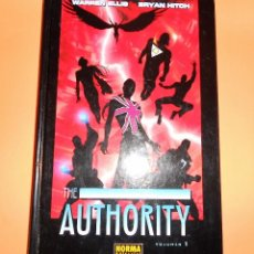 Cómics: THE AUTHORITY. VOLUMEN 1. WARREN ELLIS. IMPECABLE.. Lote 96136139