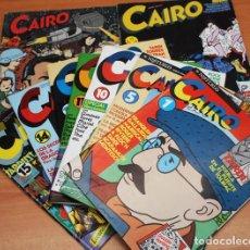 Cómics: LIQUIDACION LOTE 8 COMICS CAIRO (INCLUIDO EL Nº 1) + 1 RETAPADO, VER DESCRIPCION E IMAGENES, COMIC. Lote 96162763