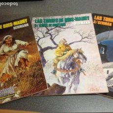 Cómics: HERMANN. LAS TORRES DE BOUS- MAURY. OBRA COMPLETA EN TRES TOMOS. Lote 96187191