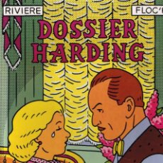 Cómics: DOSSIER HARDING. COMIC DE RIVIERE & FLOC'H. NORMA EDITORIAL 1982. TAPA DURA. Lote 96628171