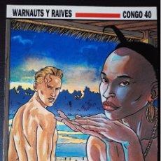 Cómics: CONGO 40 - WARNAUTS Y RAVIES - NORMA EDITORIAL - CIMOC EXTRA COLOR. Lote 96717543