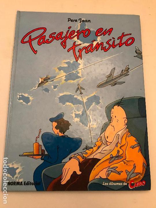 ALBUMES DE CAIRO Nº 3. PASAJERO EN TRANSITO. PERE JOAN. NORMA 1984 (Tebeos y Comics - Norma - Cairo)