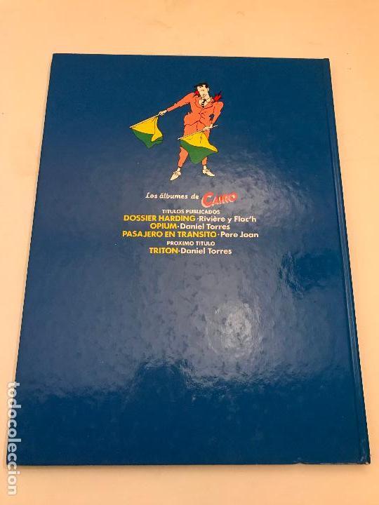 Cómics: ALBUMES DE CAIRO Nº 3. PASAJERO EN TRANSITO. PERE JOAN. NORMA 1984 - Foto 2 - 96750247