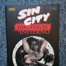 Cómics: SIN CITY: IDA Y VUELTA AL INFIERNO: TOMO 1 DE 3 - NORMA. Lote 96961119