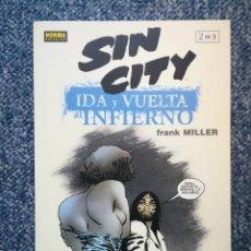 Cómics: SIN CITY: IDA Y VUELTA AL INFIERNO: TOMO 2 DE 3 - NORMA. Lote 96961295