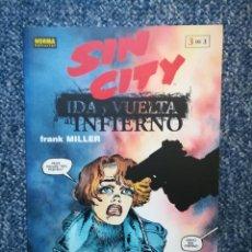 Cómics: SIN CITY: IDA Y VUELTA AL INFIERNO: TOMO 3 DE 3 - NORMA . Lote 96961435