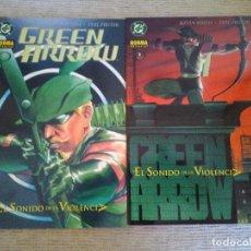 Cómics: GREEN ARROW. EL SONIDO DE LA VIOLENCIA. Nº 1 Y 2. COMPLETA. NORMA. Lote 97017811