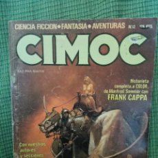 Cómics: CIMOC 12. NORMA EDITORIAL.. Lote 97178299