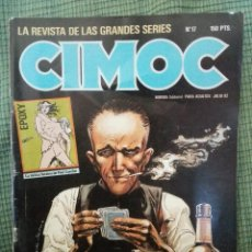 Cómics: CIMOC 17. NORMA EDITORIAL.. Lote 97178939
