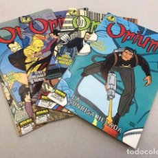 Cómics: LOTE OPIUM - NORMA - 1989 (4 COMICS). Lote 97205639