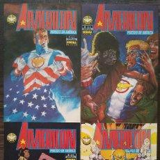 Cómics: AMERICAN. PERDIDO EN AMERICA. SERIE LIMITADA 4 NUMEROS. 1ª EDICION. NORMA 1994. Lote 97215859