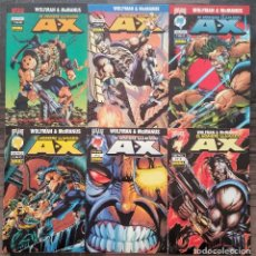 Cómics: EL HOMBRE LLAMADO A-X. (SERIE LIMITADA DE 6) 1ª EDICION. NORMA EDITORIAL 1996. Lote 97229087